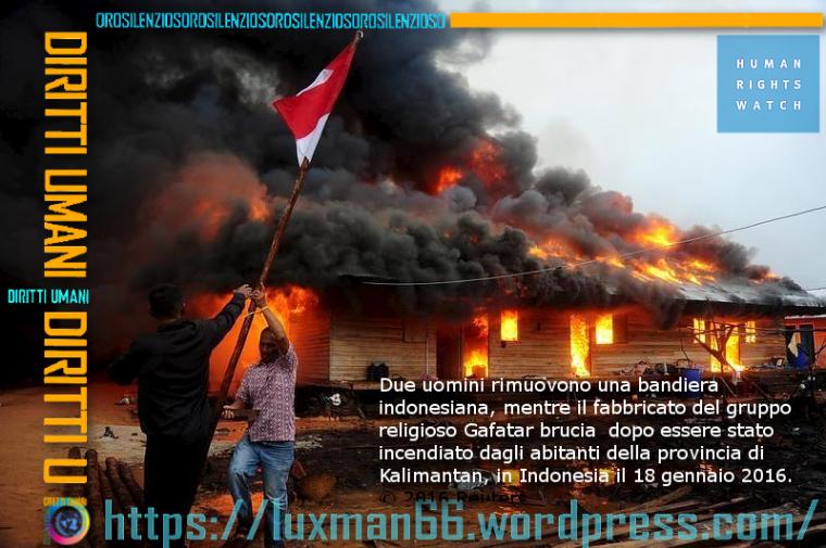 HRW indonesia